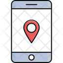 Mobile Map Online Map Map Icon