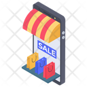 Mobile Market Icon