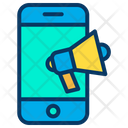Online Marketing Online Business Marketing Mobile Advertising Icon