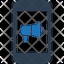 Mobile marketing Icon