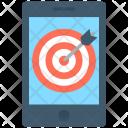 Mobile Marketing Dartboard Icon