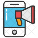 Mobile Advertising Smartphone Icon