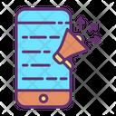 Iads Mobile Marketing Mobile Advertisement Icon