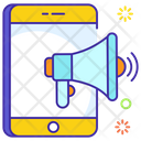 Mobile Marketing Mobil Advertisement Smartphone Promotion Icon