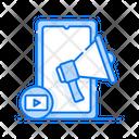 Mobile Marketing Media Marketing Digital Marketing Icon