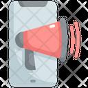 Mobile Marketing Mobile Advertisement Advertising Icon