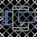Mobile Marketing Seo Icon
