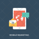 Mobile Marketing Icon