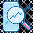 Mobile Marketing Mobile Magnifier Icon
