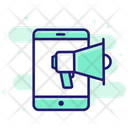 Mobile Marketing Digital Advertising Digital Icon