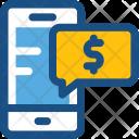 Mobile Marketing Dollar Icon