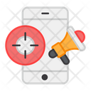 Mobile Ad Mobile Advertising Phone Advertising Icon