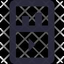 Mobile Media Icon