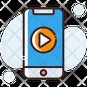 Mobile Media Media Player Mobile Video Icon