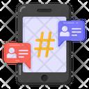 Mobile Comments Social Media Mobile Media Icon
