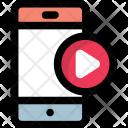 Mobile Media Player Icon