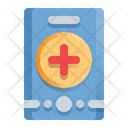 Mobile Medical Icon