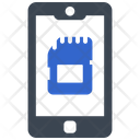 Mobile Memory Card Icon