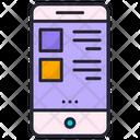 Mobile Menu Phone Menu Mobile Layout Icon