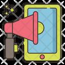 Mobile Merketing Icon