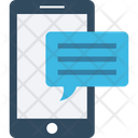 Mobile Massage Mobile Chatting Icon