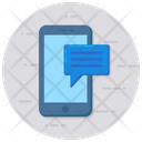 Mobile Message Mobile Chatting Messaging Icon