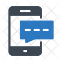 Text Message Mobile Icon