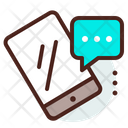 Mobile Message Mobile Chat Communication Icon