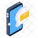 Mobile Chat Mobile Communication Mobile Text Icon