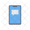 Mobile Message Mobile Chat Mobile Communication Icon
