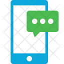 Mobile Message Phone Icon
