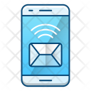 Mobile Message News Icon