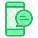 Mobile Phone Message Icon