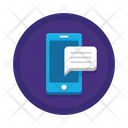 Mobile Messaging Mobile Communication Mobile Chatting Icon