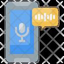 Mobile Mic Icon