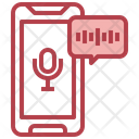 Mobile Mic Phone Recorder Mobile Microphone Icon