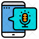 Mobile Microphone Mobile Mobile Audio Icon