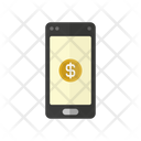 Phone Finance Business Icon