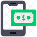 Mobile Money Mobile Transaction Smartphone Payment Icon