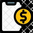 Mobile Dollar Icon