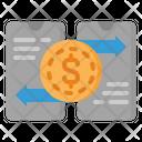 Mobile Money Exchange Mobile Money Transfer Online Transaction Icon