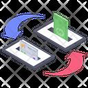 Mobile Money Transfer Online Banking Online Transfer Icon