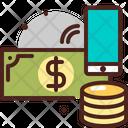 Mobile Money Transfer Mobile Transfer Money Transfer Icon