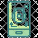 Mobile Money Transfer Mobile Banking Application Icon