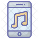 Mobile App Music Application Online Music Icon
