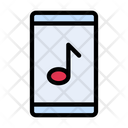Mobile Music Melody Icon