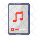 Mobile Music Audio Music Melody Icon