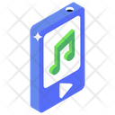 Mobile Music Online Music Music Application Icon