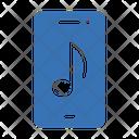 Mobile Music Audio Icon