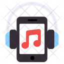 Mobile Music Music Phone Smartphone Icon